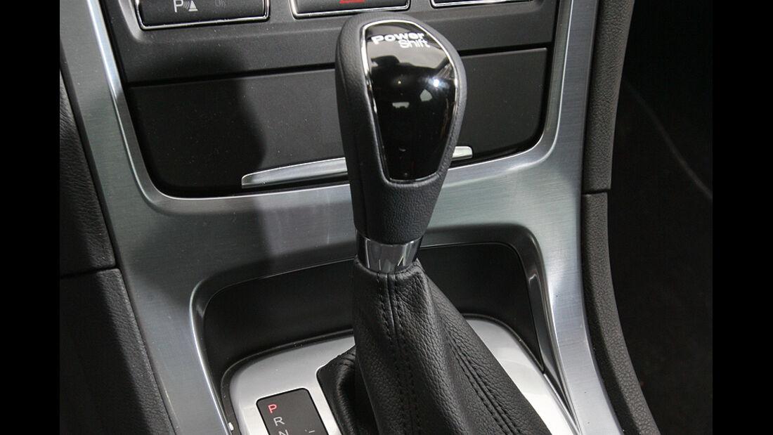 Ford Mondeo 2.0 SCTi, Cockpit, Schalthebel