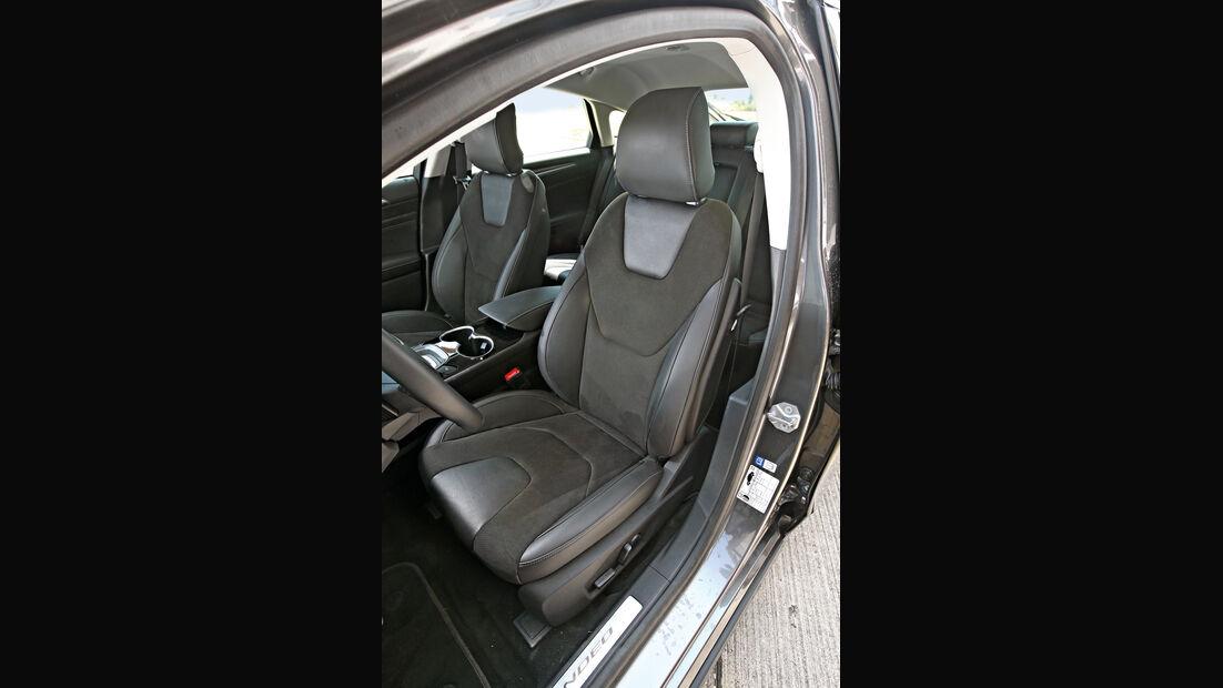Ford Mondeo 2.0 TDCI, Fahrersitz