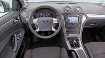 Ford Mondeo 2.0 TDCi, Cockpit, Lenkrad
