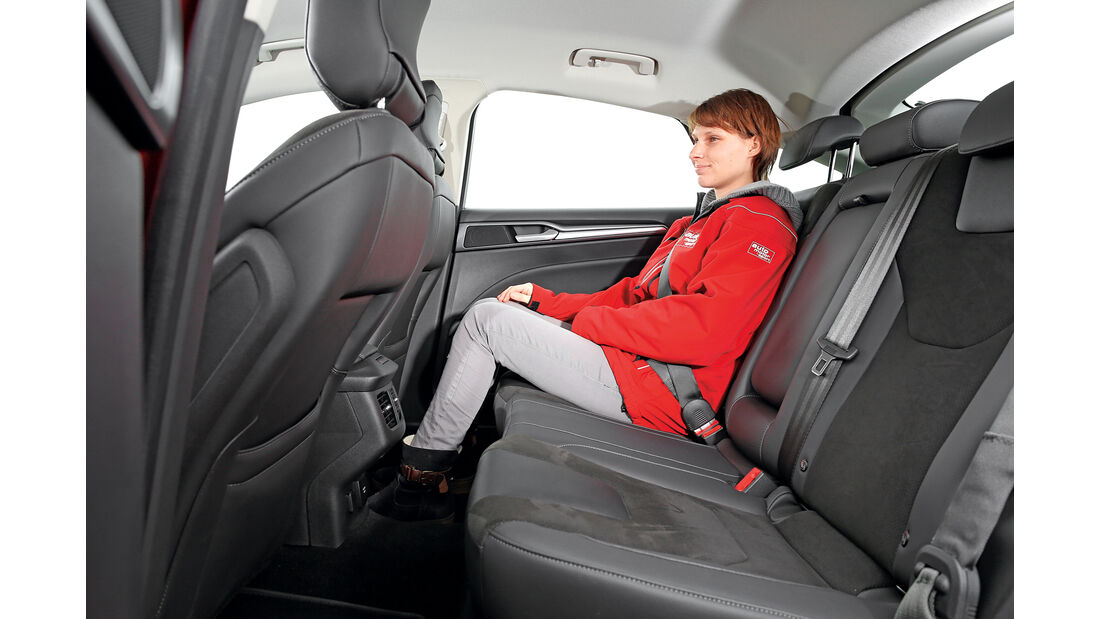 Ford Mondeo 2.0 TDCi, Fondsitze