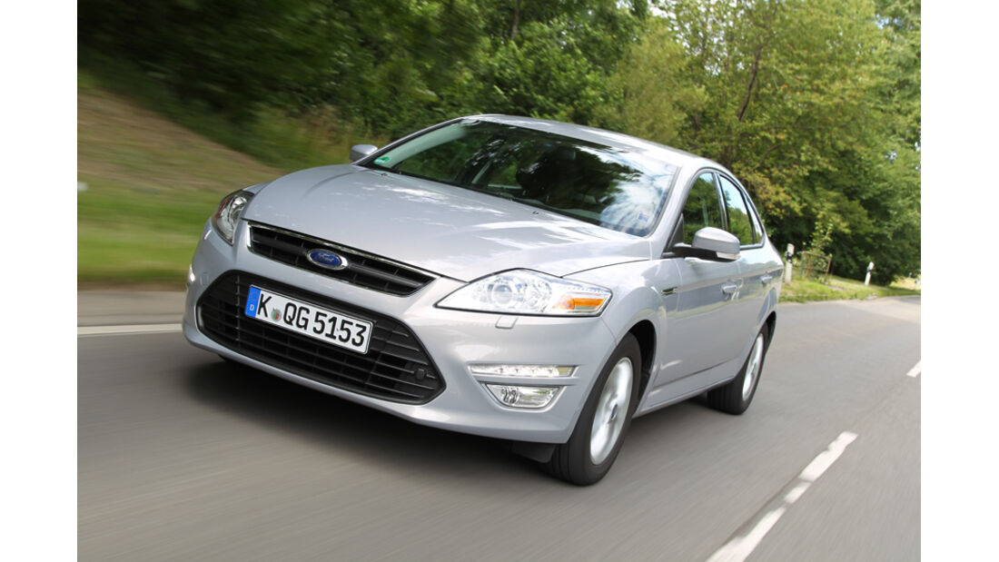 Ford Mondeo 2.0 TDCi, Front