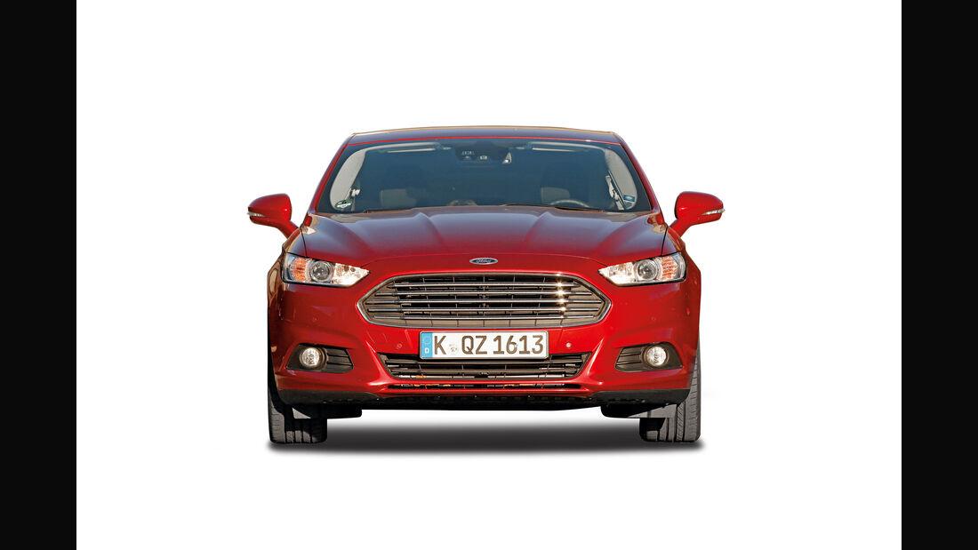 Ford Mondeo, Abgastest auf der Straße, AMS2515