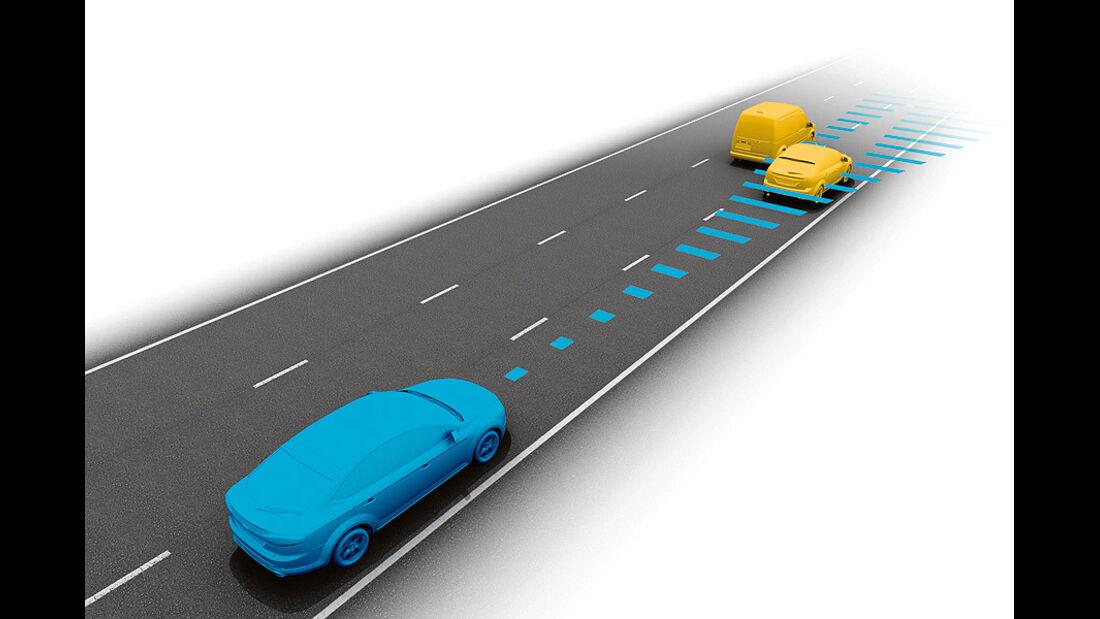 Ford Mondeo, Abstandsregeltempomat