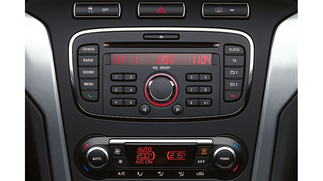 Ford Mondeo, Audioanlage