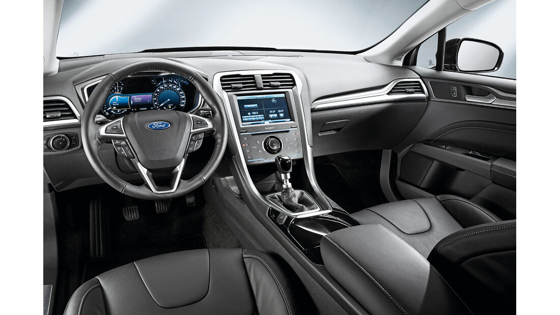 Ford Mondeo, Cockpit