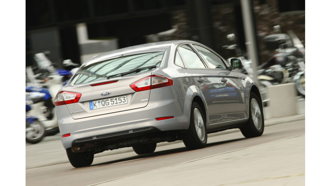 Ford Mondeo Flexifuel, Heck