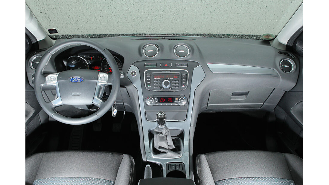 Ford Mondeo Flexifuel LPG, Innenraum, Cockpit