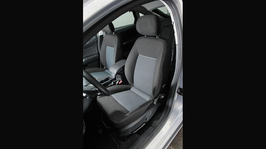 Ford Mondeo Flexifuel LPG, Innenraum, Sitze