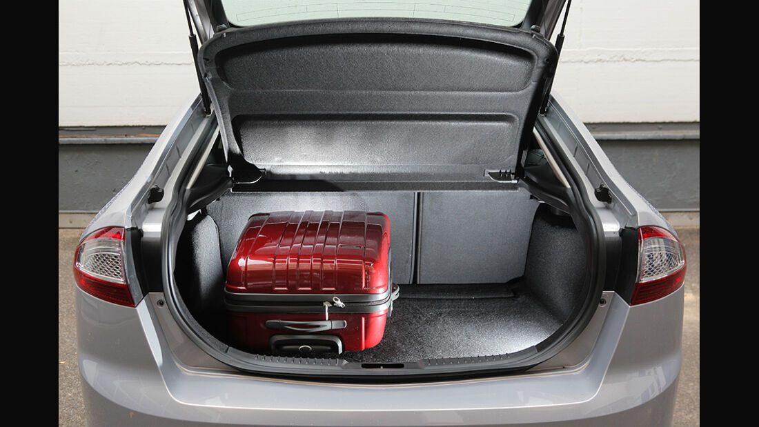 Ford Mondeo Flexifuel LPG, Kofferraum