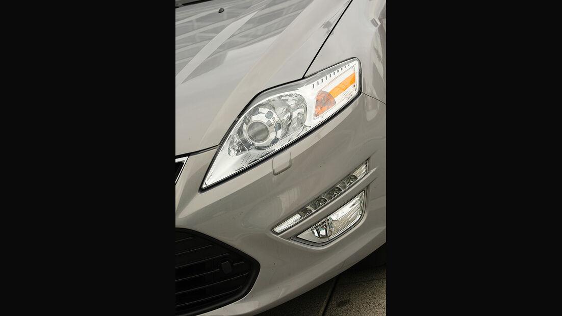 Ford Mondeo Flexifuel LPG, Scheinwerfer
