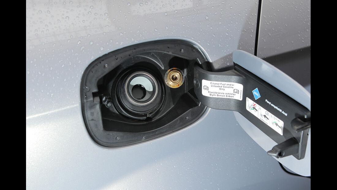 Ford Mondeo Flexifuel LPG, Tankklappe, Einfüllstutzen