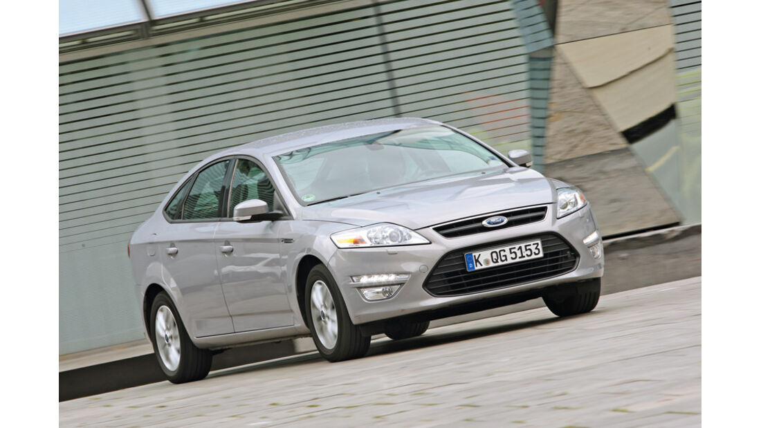 Ford Mondeo Flexifuel, Seitenansicht