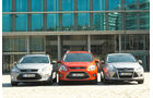 Ford Mondeo, Ford Focus Turnier, Ford Grand C-Max, Front