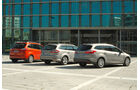 Ford Mondeo, Ford Focus Turnier, Ford Grand C-Max, Heck