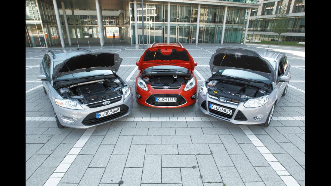 Ford Mondeo, Ford Focus Turnier, Ford Grand C-Max, Motorhaube