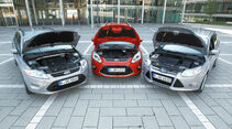 Ford Mondeo, Ford Focus Turnier, Ford Grand C-Max, Motorhaube