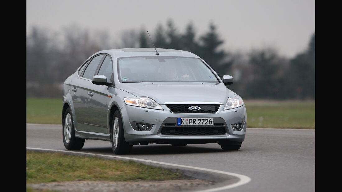 Ford Mondeo, Frontansicht
