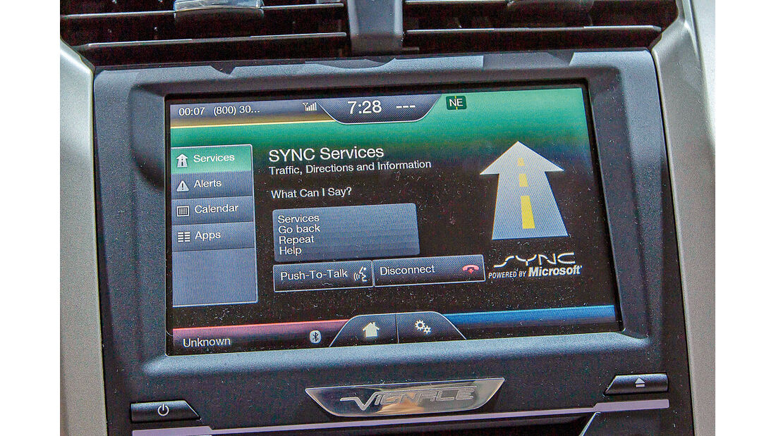 Ford Mondeo, Infotainment