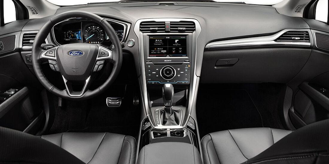 Ford Mondeo, Innenraum