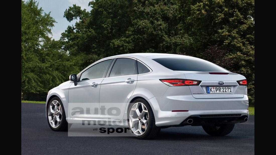 Ford Mondeo Kinetic Design 2.0, Seitenansicht