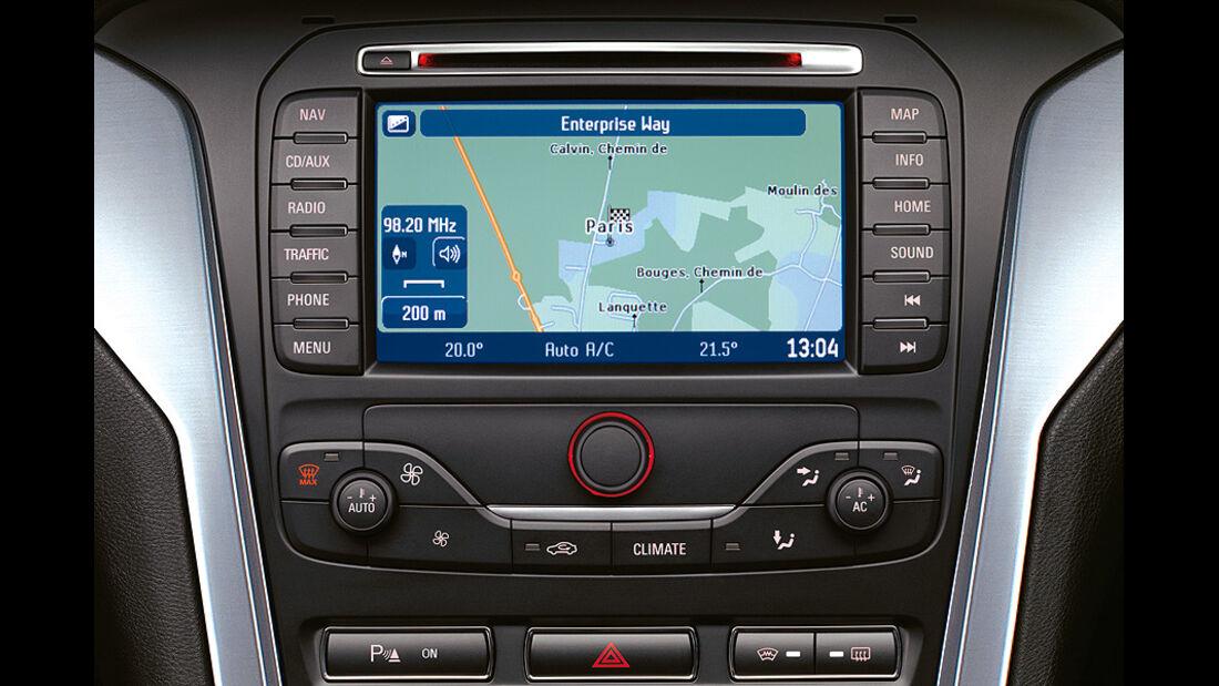 Ford Mondeo, Navigationssystem
