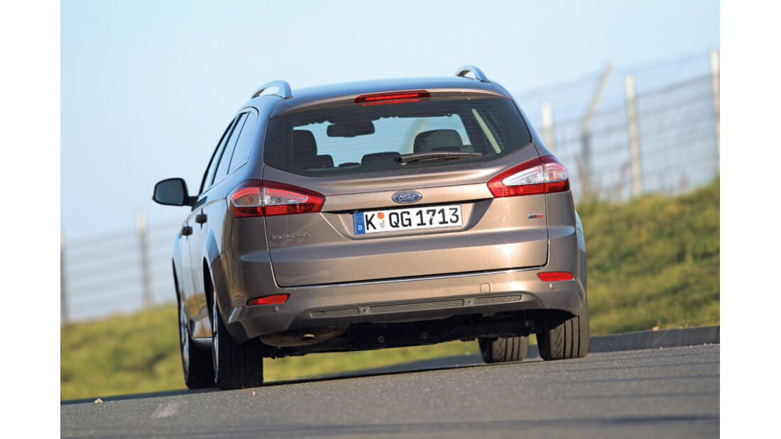 Ford Mondeo TDCi, Heck