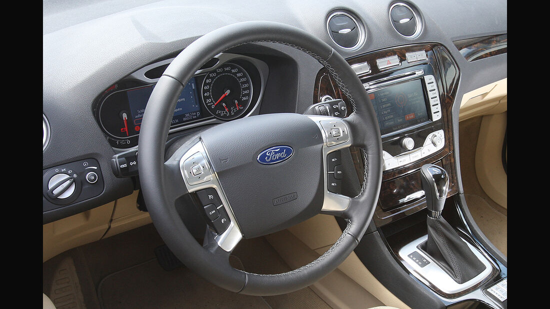 Ford Mondeo Turnier 2.0 Eco-Boost SCTi, Cockpit