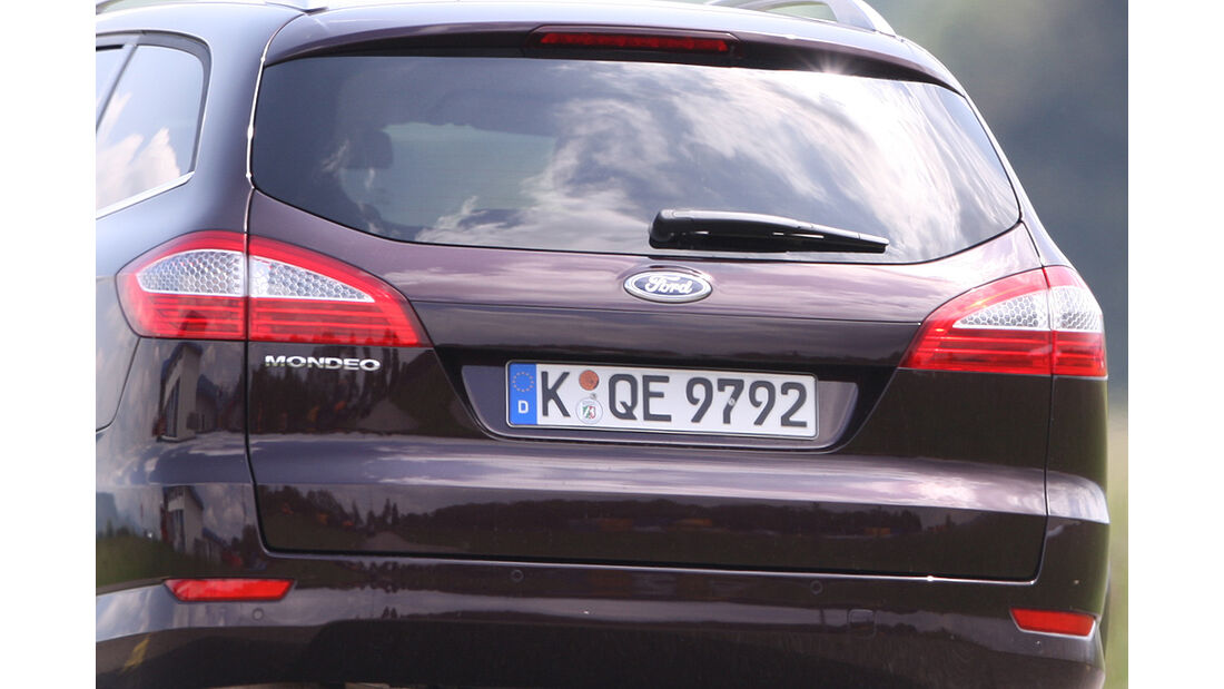 Ford Mondeo Turnier 2.0 Eco-Boost SCTi, Heck