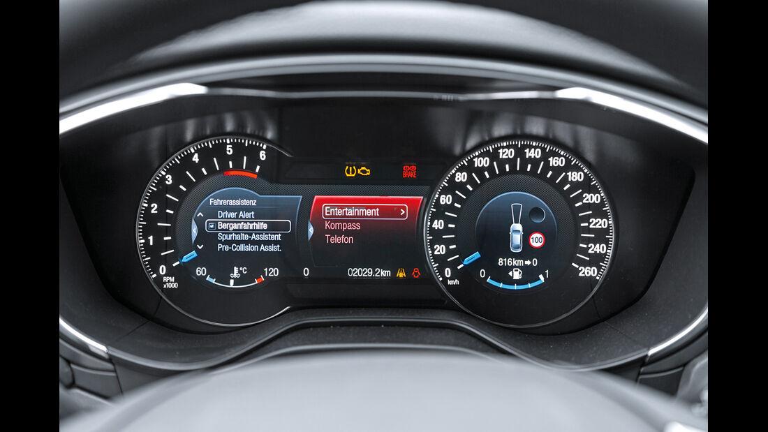 Ford Mondeo Turnier 2.0 TDCI, Rundinstumente