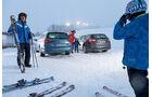 Ford Mondeo Turnier 2.0 TDCI, VW Passat Variant 2.0 TDI, Heckansicht