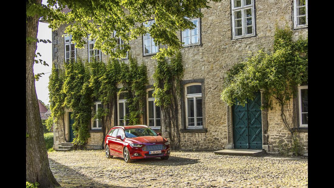 Ford Mondeo Turnier 2.0 TDCi, Exterieur