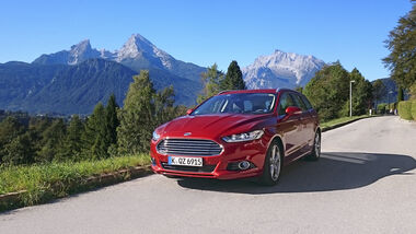 Ford Mondeo Turnier 2.0 TDCi, Exterieur