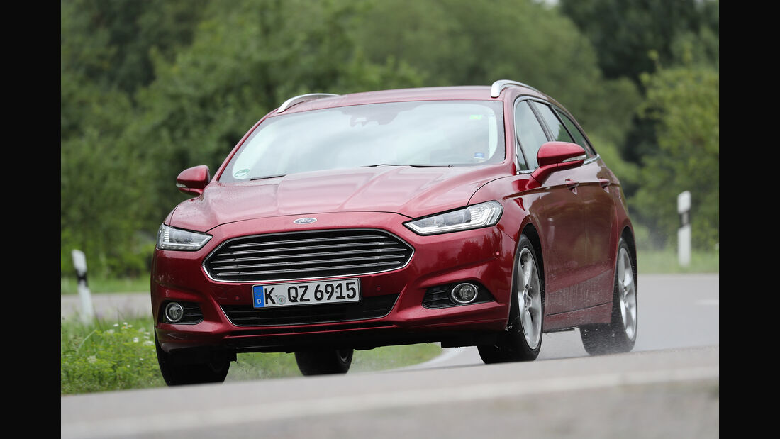Ford Mondeo Turnier 2.0 TDCi, Front