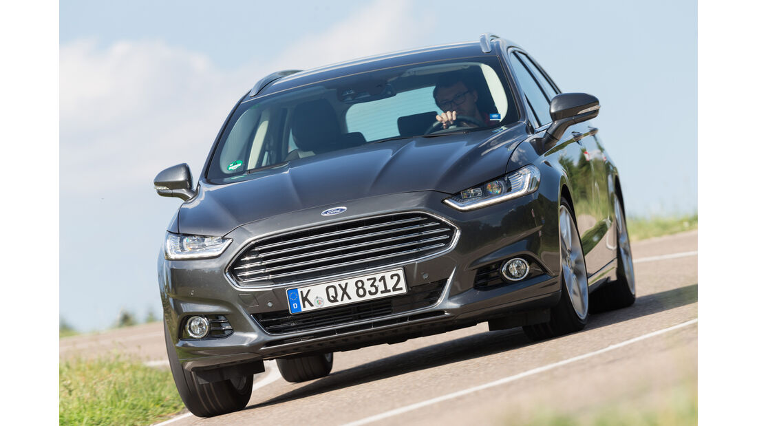 Ford Mondeo Turnier 2.0 TDCi, Frontansicht