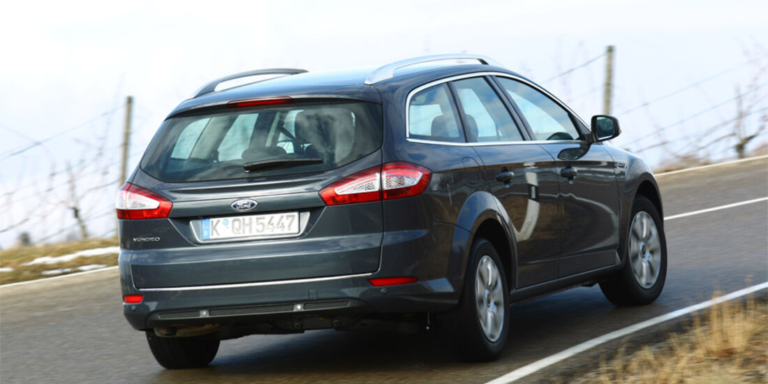 Ford Mondeo Turnier 2.0 TDCi, Heck