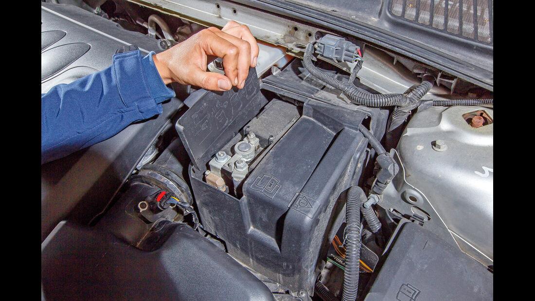 Ford Mondeo Turnier, Batterie