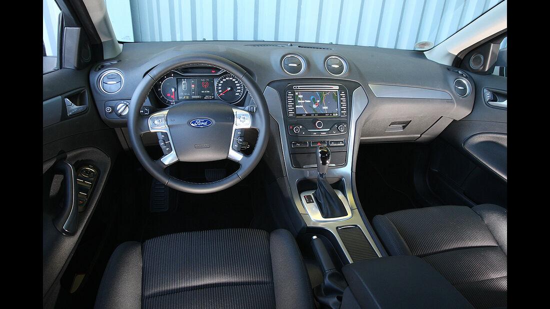 Ford Mondeo Turnier, Cockpit, Innenraum