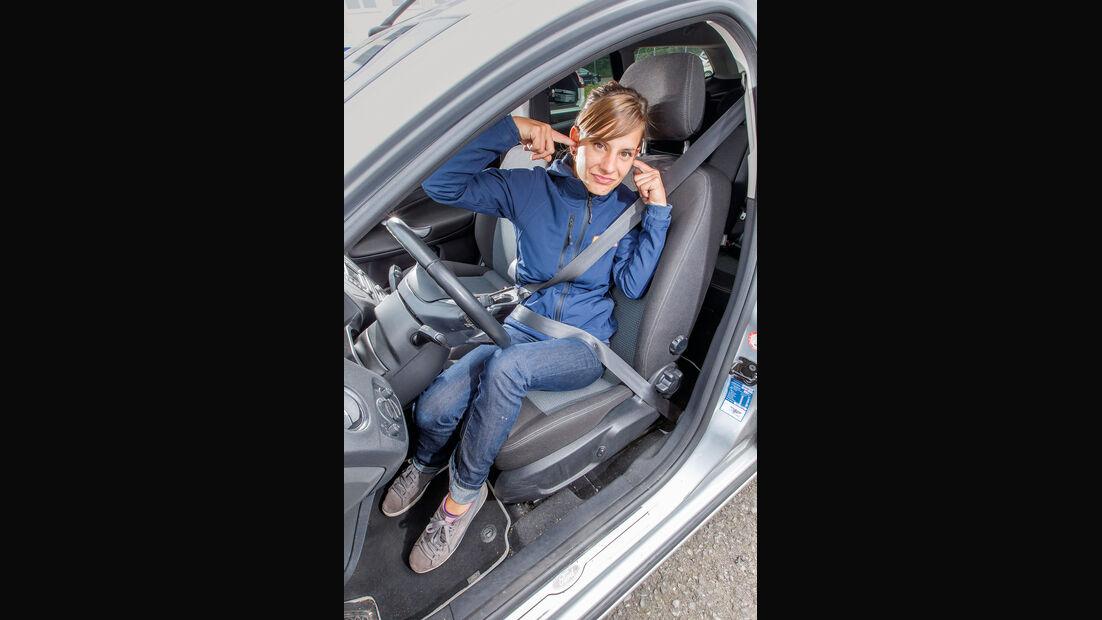 Ford Mondeo Turnier, Fahrersitz, Anna Matuschek