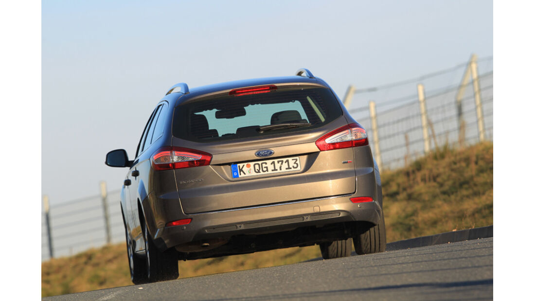 Ford Mondeo Turnier, Heck
