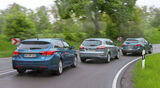 Ford Mondeo Turnier, Hyundai i40 cw, Mazda 6 Kombi, Heckansicht
