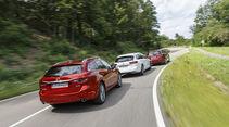 Ford Mondeo Turnier, Mazda 6 Kombi, Opel Insignia ST, Exterieur