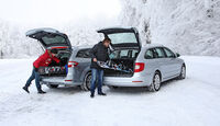 Ford Mondeo Turnier, Skoda Superb Combi