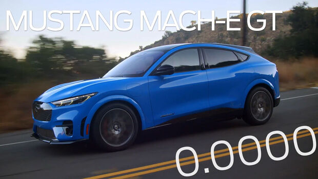 Ford Mustand Mach-E GT