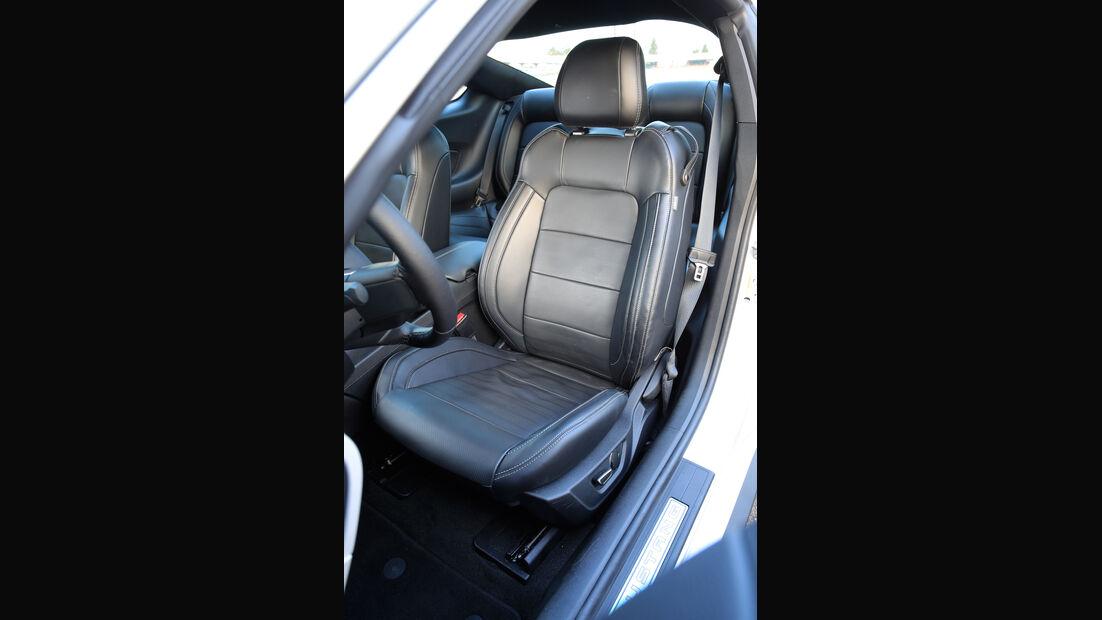 Ford Mustang 2.3 Ecoboost, Fahrersitz