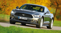 Ford Mustang 2.3 Ecoboost Fastback, Frontansicht