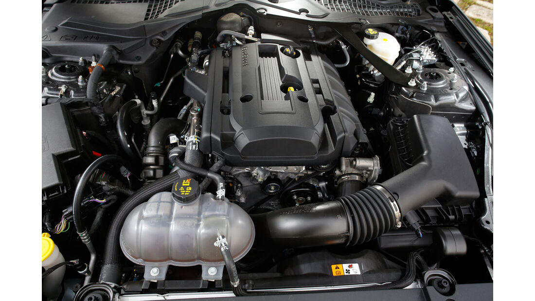 Ford Mustang 2.3 Ecoboost Fastback, Motor