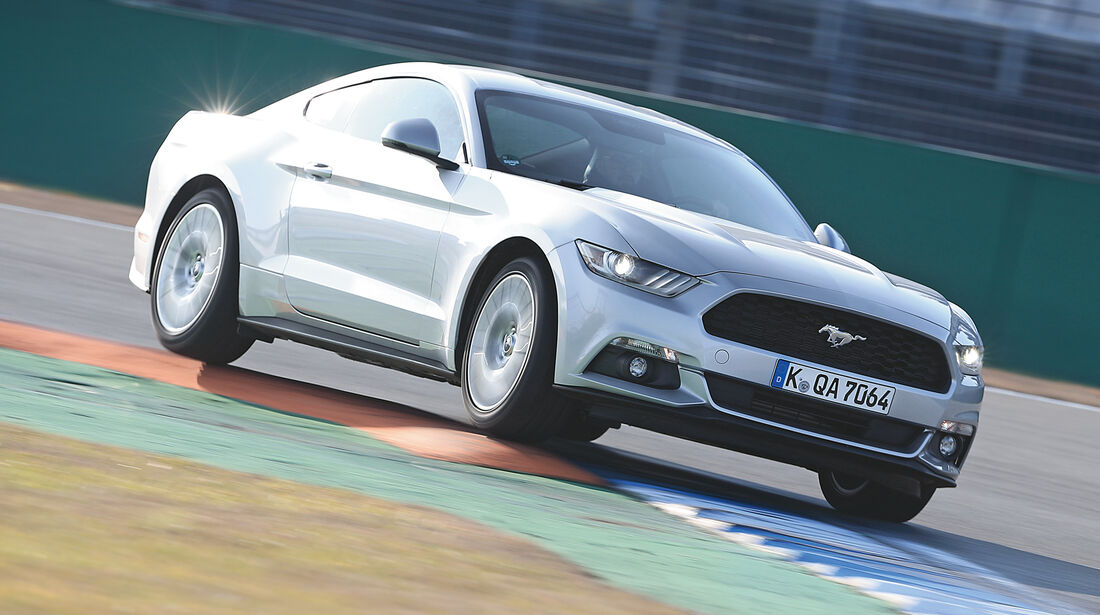 Ford Mustang 2.3 Ecoboost, Frontansicht