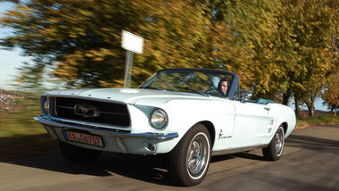 Ford Mustang 289 Convertible, Front