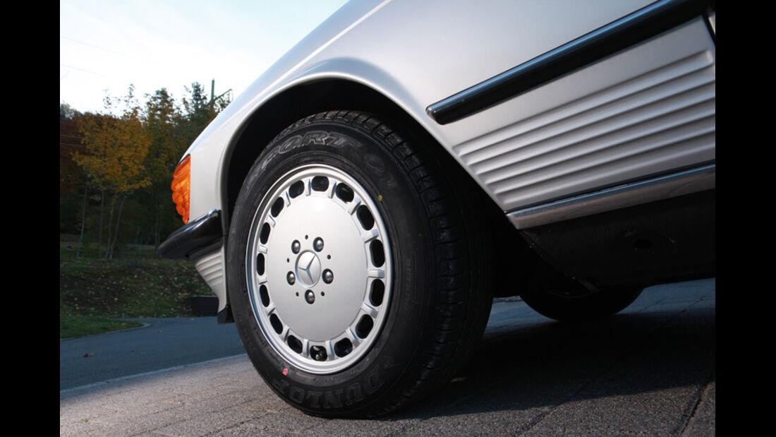 Ford Mustang 289 Convertible, Rad, Reifen, Detail