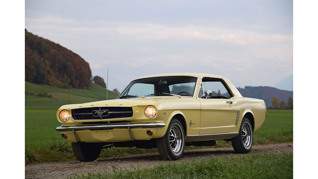 Ford Mustang 289 V8 Coupe Oldtimer Auktion Toffen